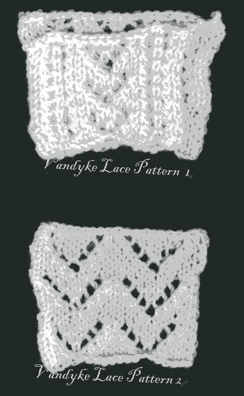 Vandyke Lace Knitting Pattern : Elizabeth Emery: Different Knit Stitches Swatches