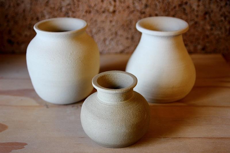 Mud Slinging Making Pottery Vases