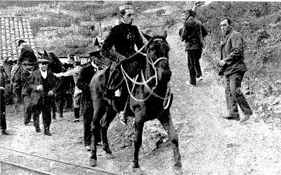rey alfonso XIII minas de figols olano castell estacion minas de figols locomotora sant corneli