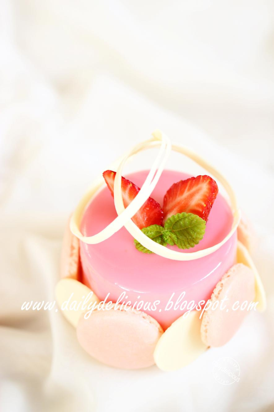 Strawberry Mousse Cake Recipe Uk