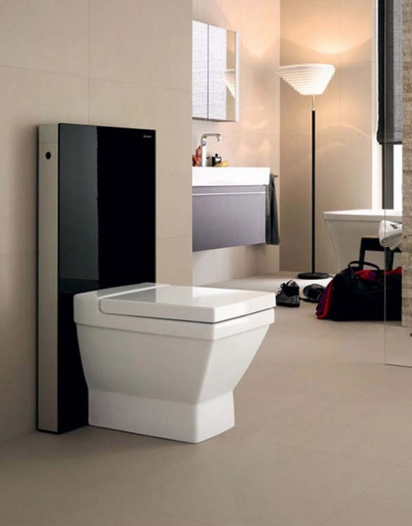 Dise o de ba os wc modular monol tico ba os y muebles for Wc inteligente