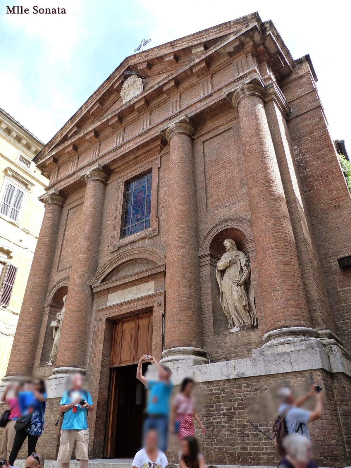 Voyage Italie Sienne Eglise Saint Christophe