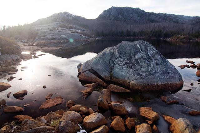 Tumbledown Pond in Maine