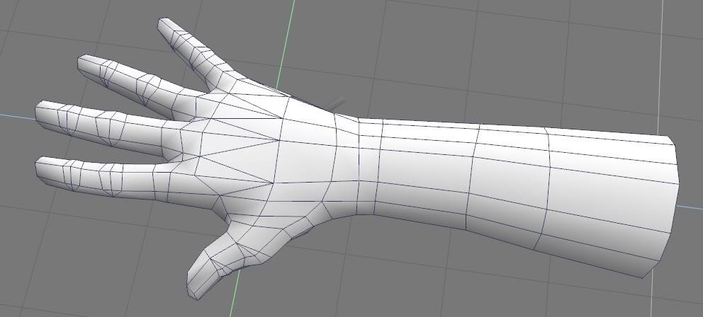 Blender 3d Hand ~ 九月 icg