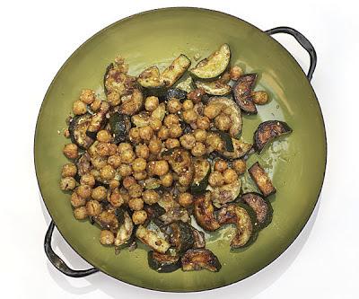 Sautéed Zucchini With Za'Atar And Crispy Chickpeas Recipe