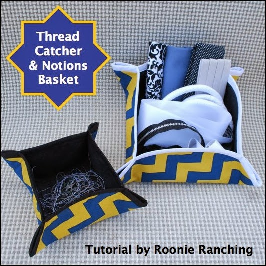 Title photo for Thread Catcher & Notions Basket Sewing Tutorial
