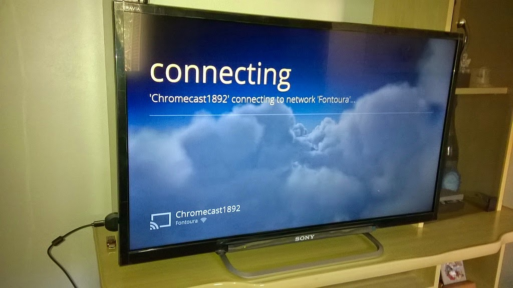 google chromecast configuracao tv 3