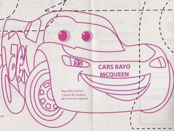 Patron de cars para imprimir - Imagui