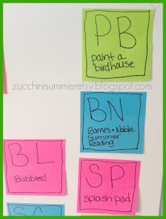 zucchini summer blog, summer bucket list, science themed bucket list