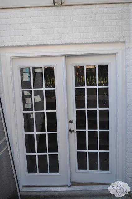 Installing French Doors My Suburban Kitchen