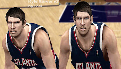 NBA 2K13 Kyle Korver Cyberface Patch v2