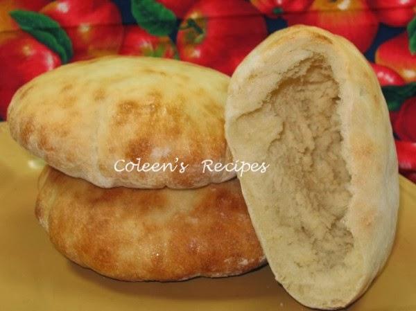bread machine pita bread