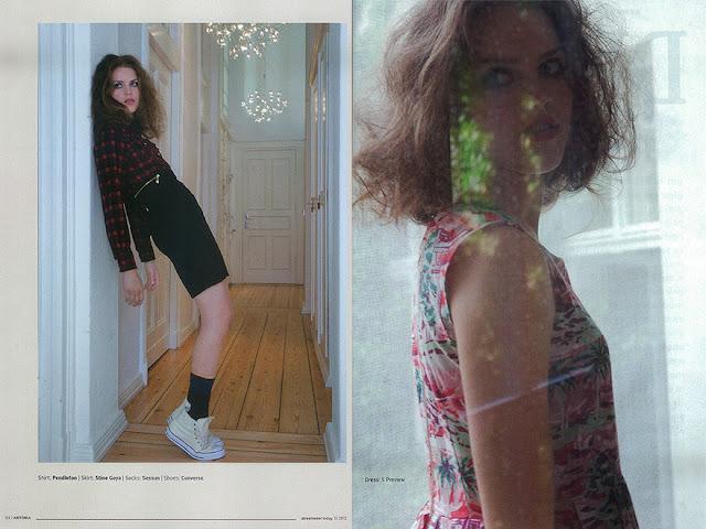 model// Antonia Bartning// Viva models