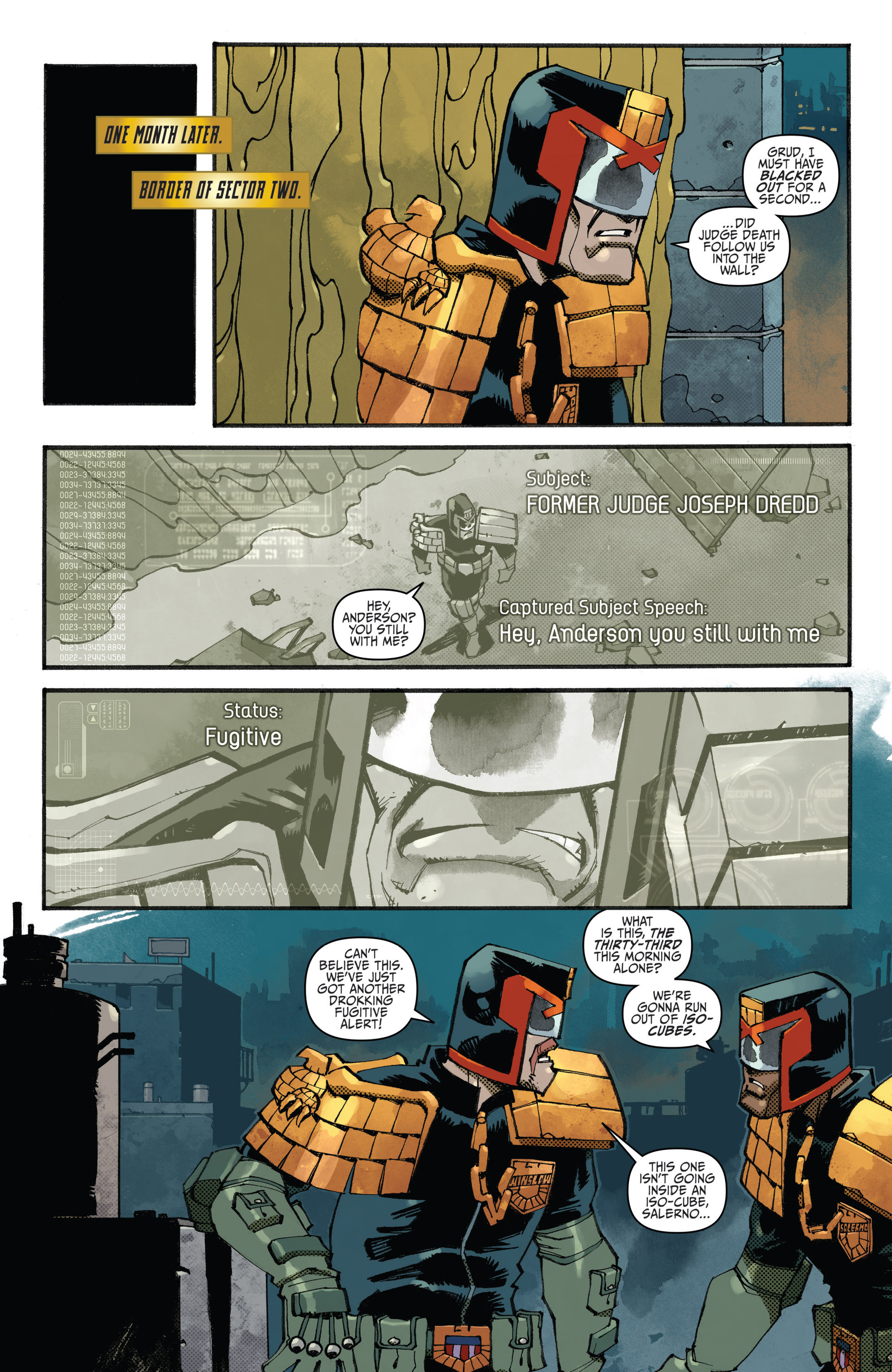 Read online Judge Dredd (2012) comic -  Issue #23 - 5