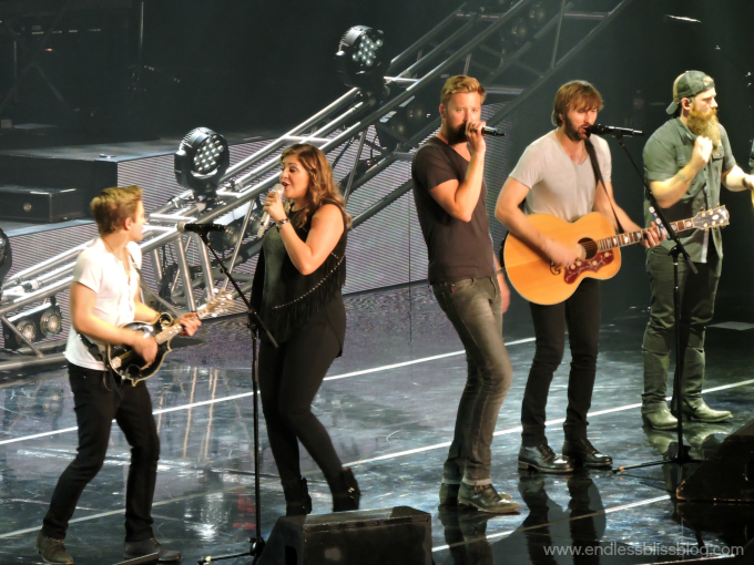 Lady Antebellum, Hunter Hayes Wheels Up Tour