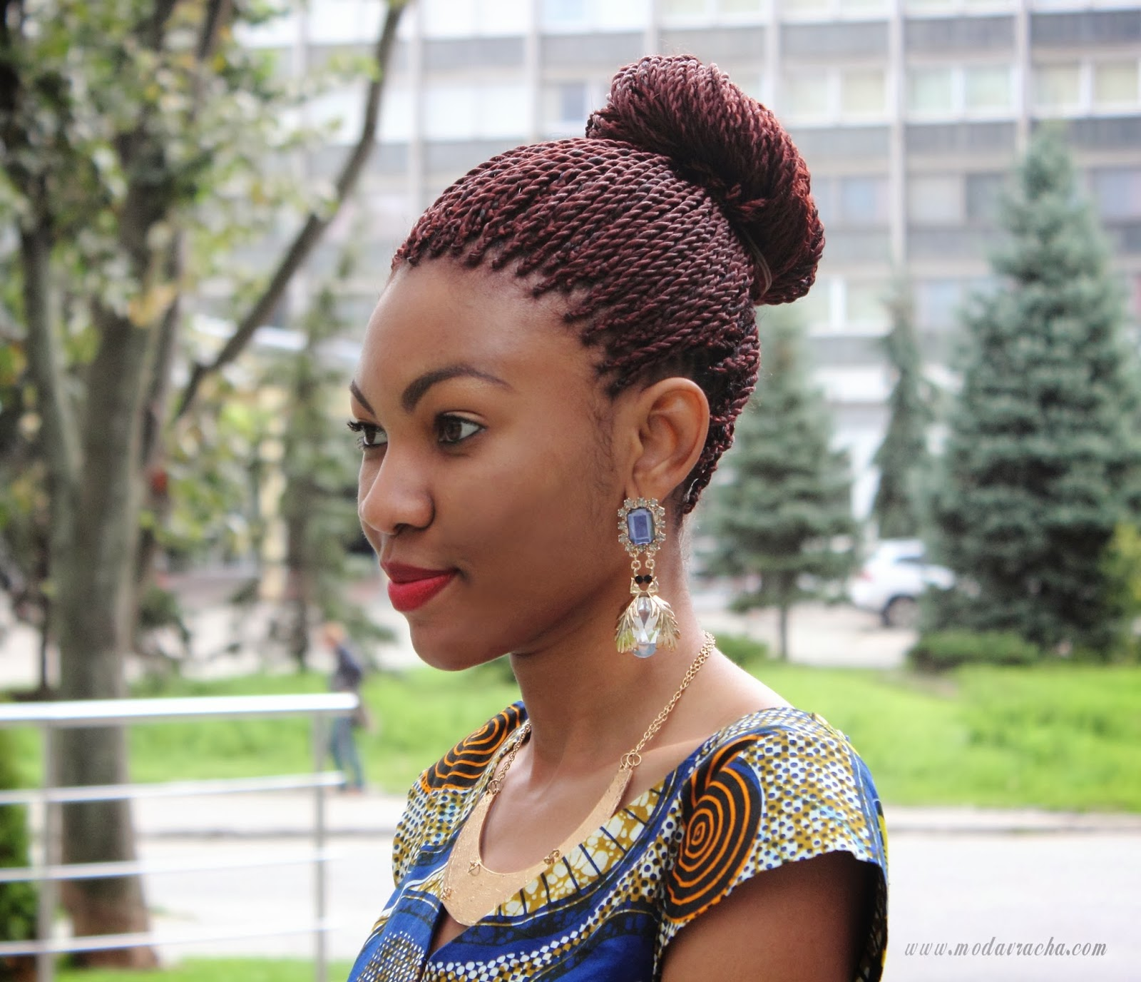 african braids style, braids twist style, nigerian fashion blogger ...