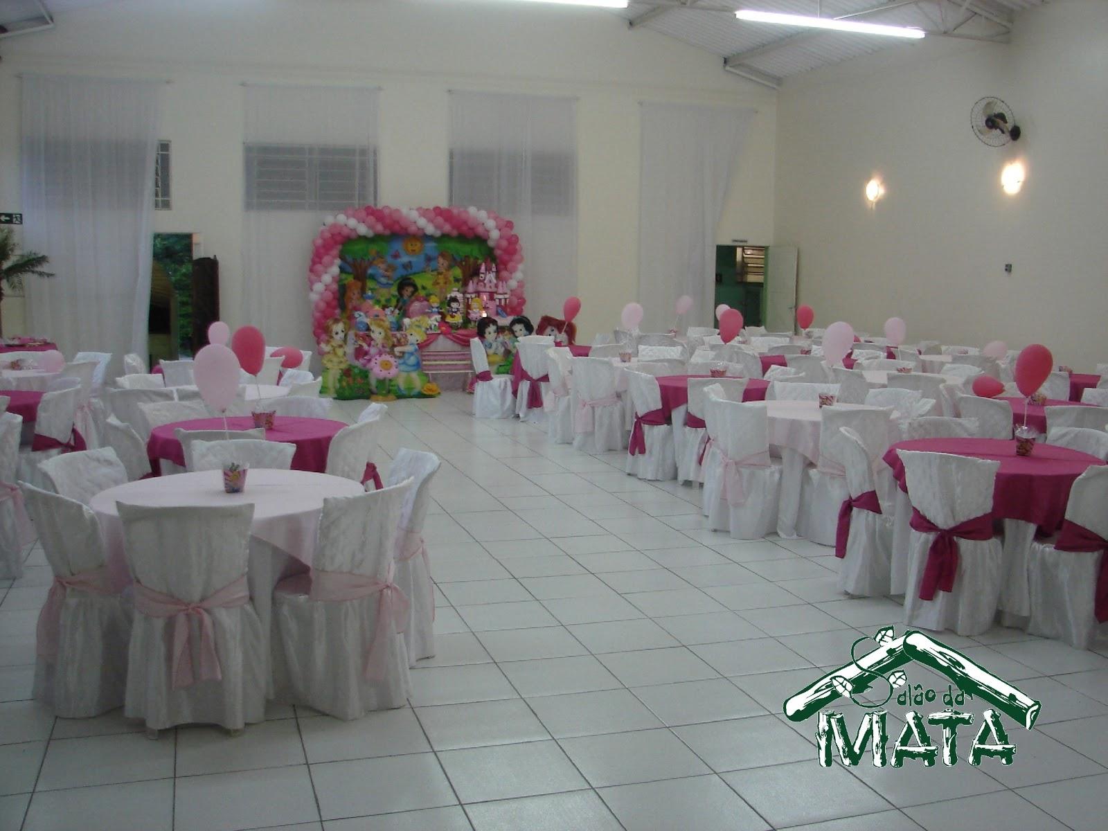 SALÃO DA MATA  Espaço para Festas e Eventos Aniversário infantil com decora -> Decoracao De Banheiro Para Salao De Festa