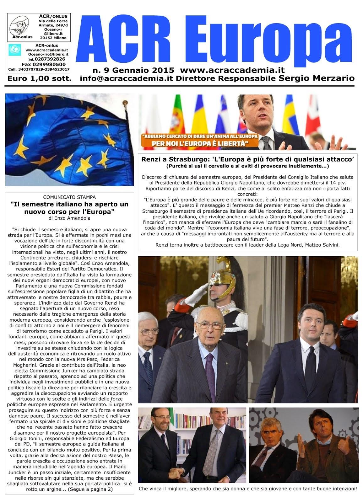 ACR.. EUROPA- MILANESE/SANREMESE