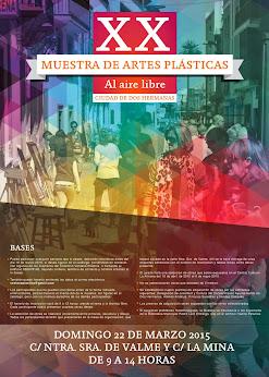 BASES XX MUESTRA DE ARTES PLÁSTICAS AL AIRE LIBRE CIUDAD DE DOS HERMANAS. TFNO.: 955678195