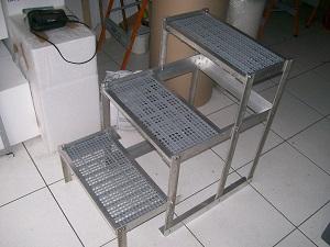 escadas para mesa de acupuntura