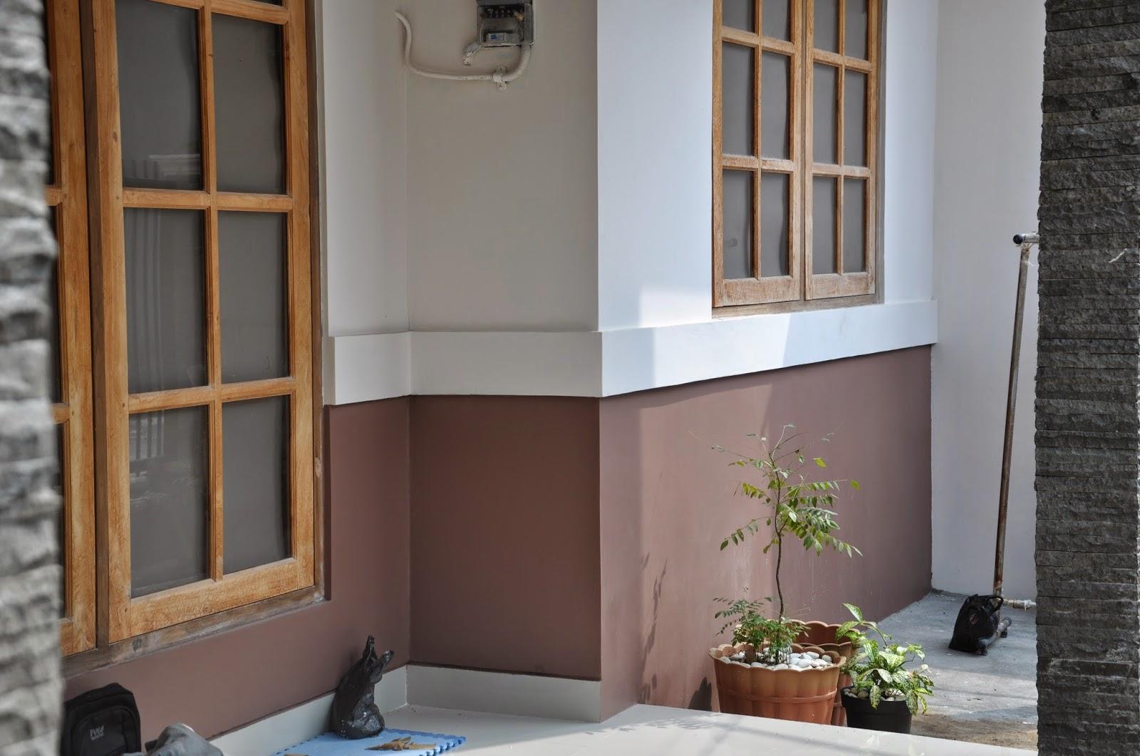 jasa pengecatan rumah jogja kombinasi warna cantik dengan