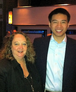 photo of Nancy Zavada and Timothy Chen