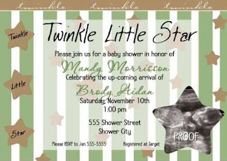 Baby Boy Baby Invitations 1