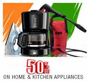 Flipkart: Buy Best sellers Home & Kitchen Appliances 70% off from Rs.179