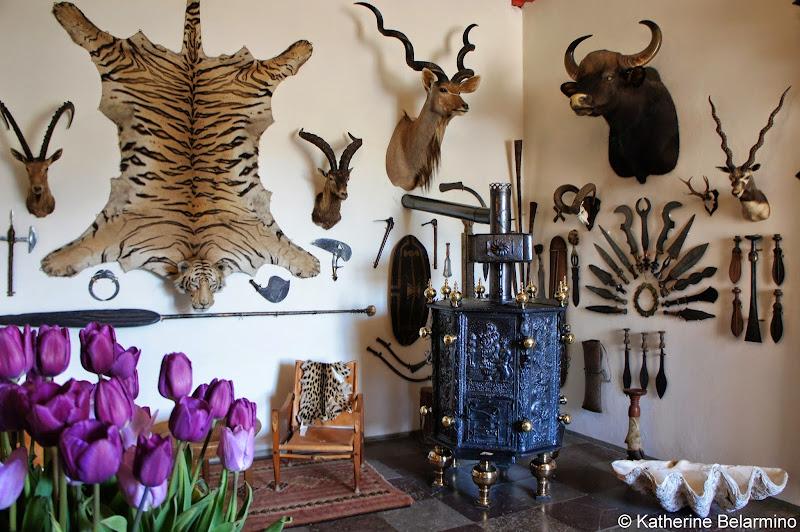 Egeskov Slot Hunting Trophies Denmark