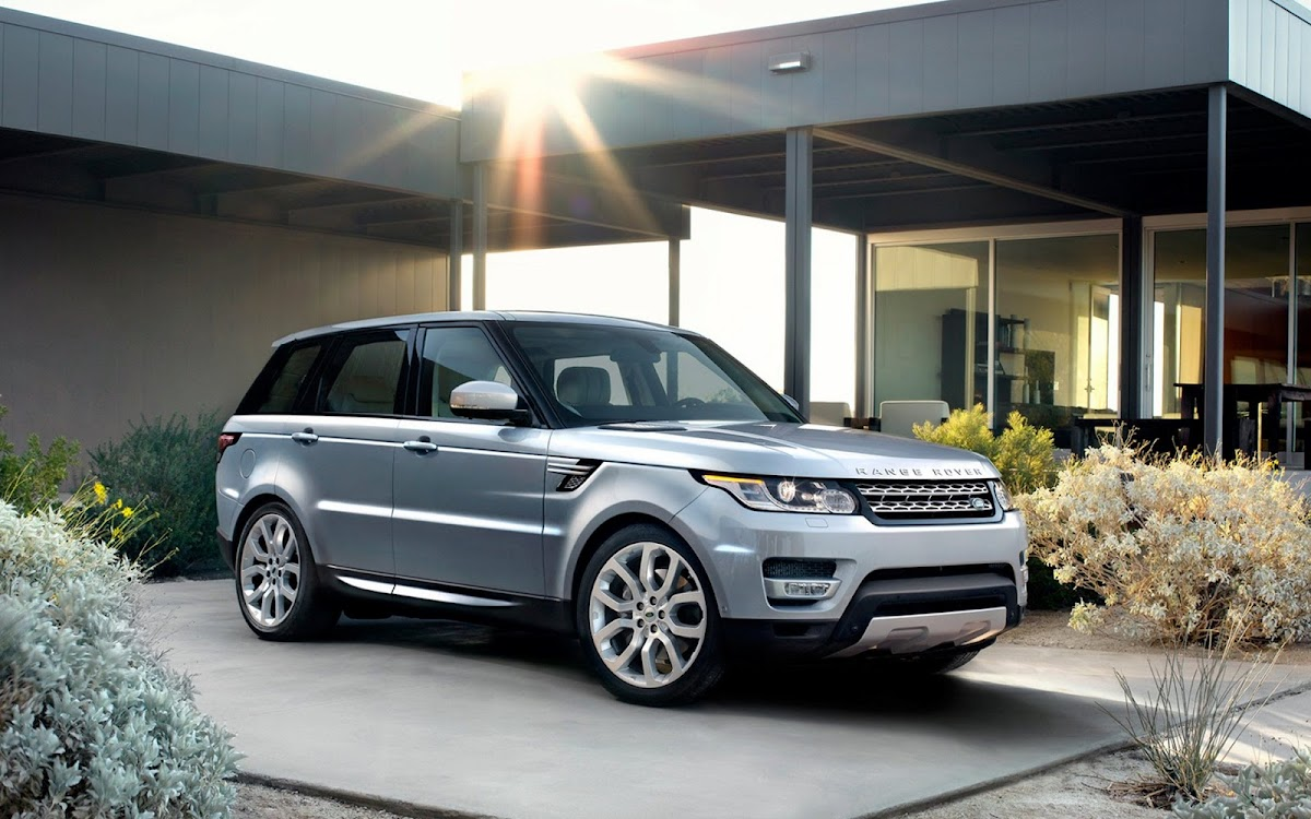 2014 Range Rover Sport Widescreen HD Wallpaper 8