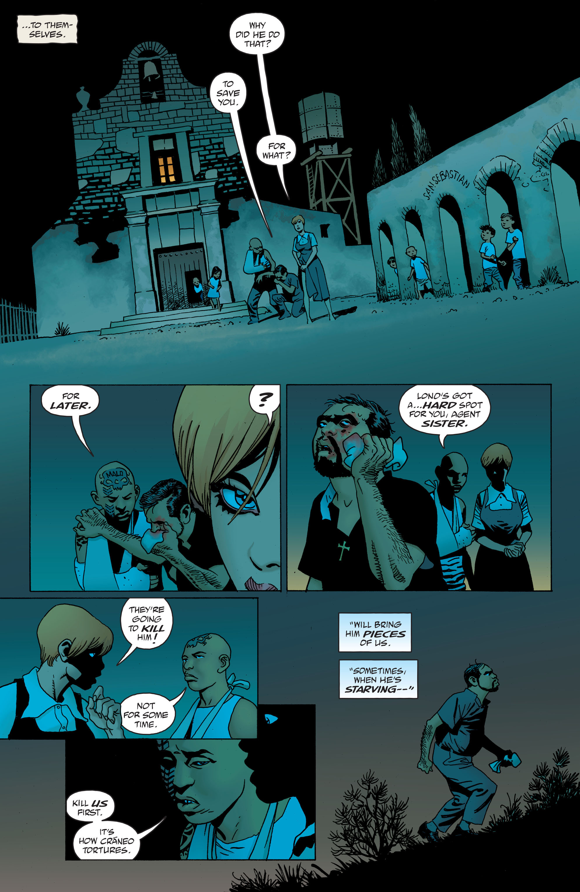 100 Bullets: Brother Lono Full Page 140