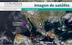 Prevén fuertes lluvias y tormentas eléctricas en 14 estados