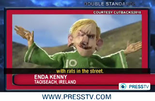 enda scares on Press tv