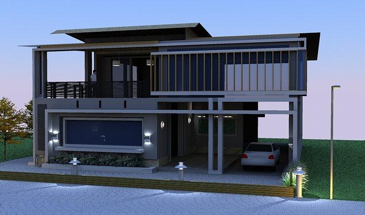 perencanaan arsitektur rumah minimalis