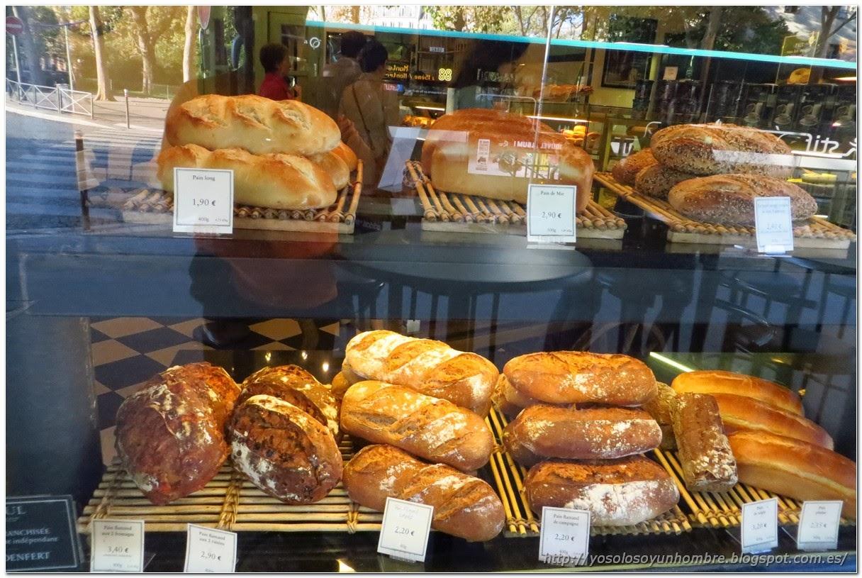 Panes de todos los tipos, a cual más bueno