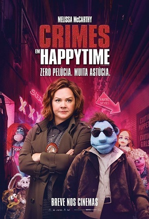 Crimes em Happytime 1080P 1920x1080 Baixar torrent download capa