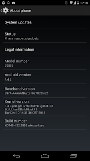 Android 4.4 update now available for Sony Xperia Z Ultra Google Play edition.