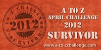 2012 April A-Z Challenge Survivor