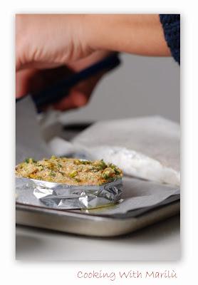 ricetta salmone in crosta