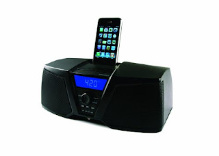 iPod iPhone Digital Stereo System with AM FM Tuner and Alarm