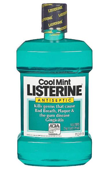 Coupon listerine mouthwash