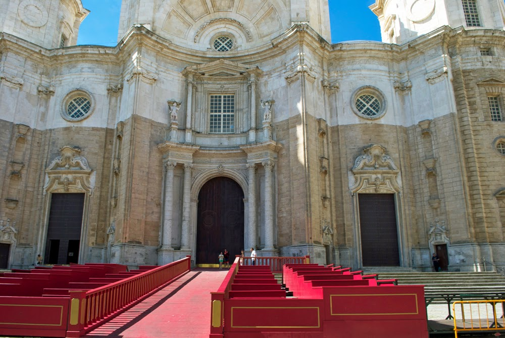 Cadiz, Spain cathedral