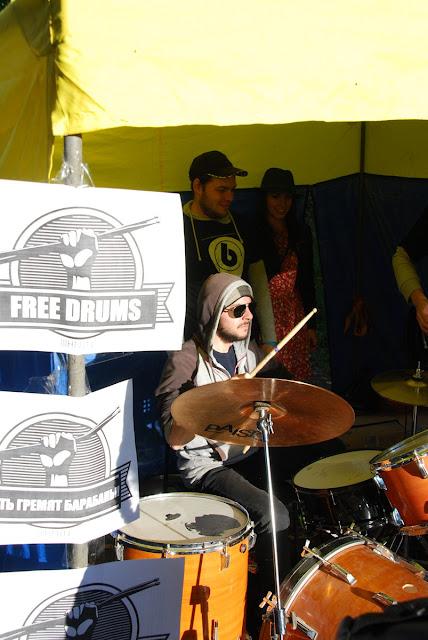 Бей в барабаны на Фестивале Тринити - 2015 в Лысьве