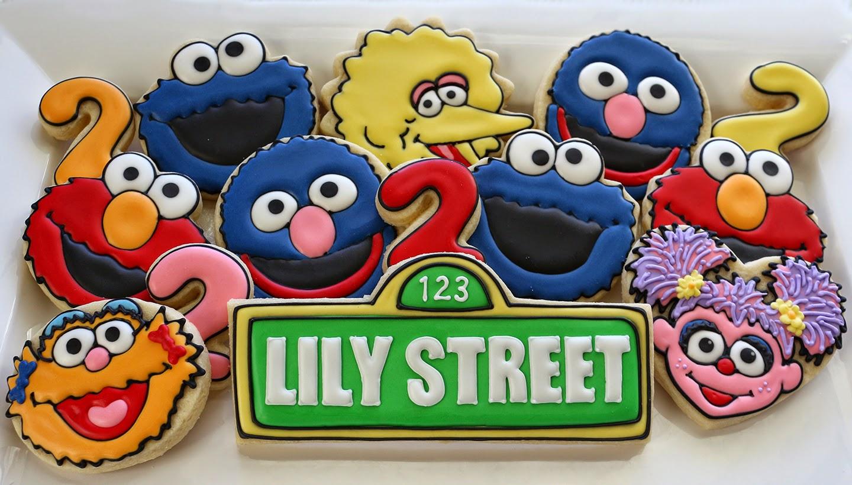 Sesame Street Cookies