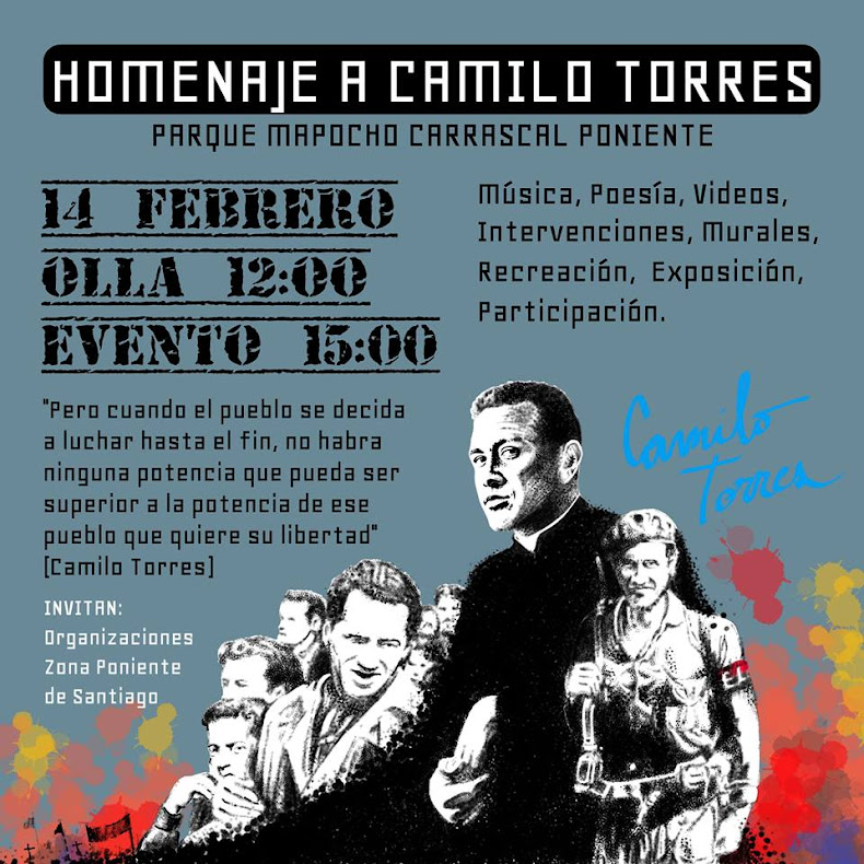 PARQUE MAPOCHO, CARRASCAL PONIENTE: HOMENAJE A CAMILO TORRES