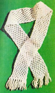 Как сплести шарф в макраме?