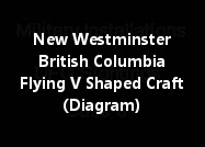 New Westminster British Columbia A Flying V Shaped Craft (Diagram)