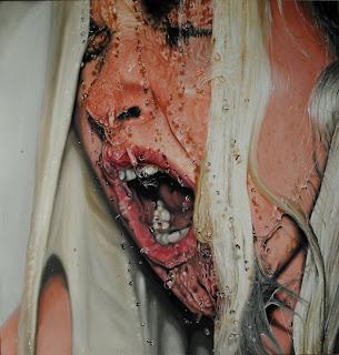 Arte hiper-realista com água - 1