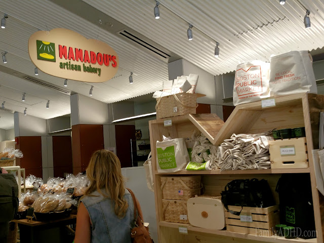 Mamadou's Boston Public Market indoor farmer's market open in Boston Blogger Tour