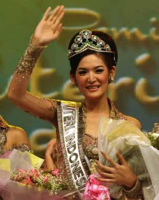 Indonesia on Miss Indonesia Universe 2012   Maria Selena